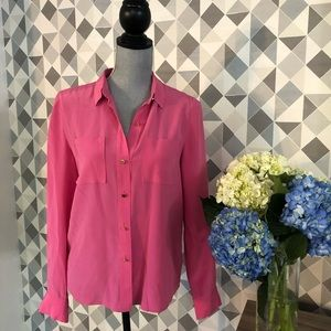 Juicy Couture shirt. Size S. 100% silk
